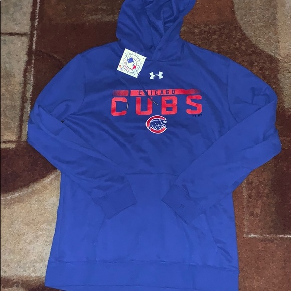 Under Armour Other - New Under Armour Chicago Cubs Hoodie Sweatshirt